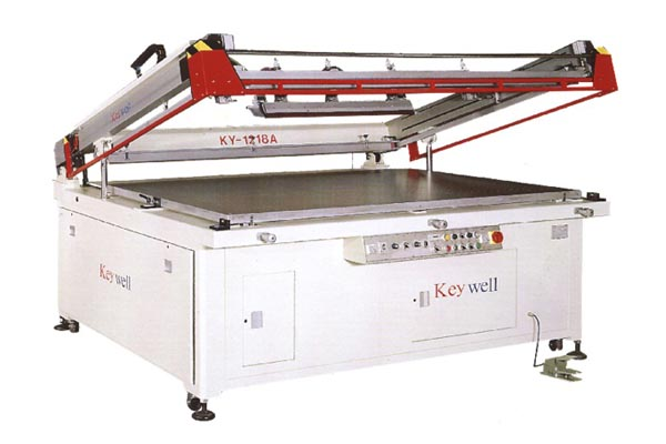 Semi-auto Precision Clam-shell Screen Printing Machine