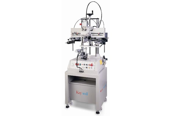 Small Format Pneumatic Curve Screen Printer