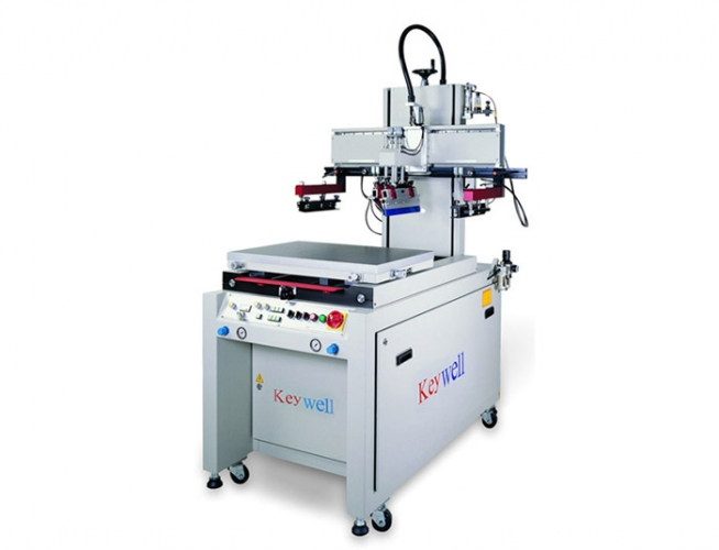 Semi-auto Single Arm Type Table Sliding Screen Printer