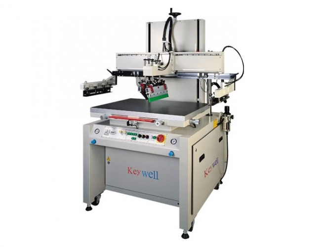 Semi-auto Single Arm Type Screen Printer