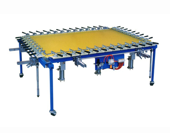 Cog Bar Style Screen Stretching Machine